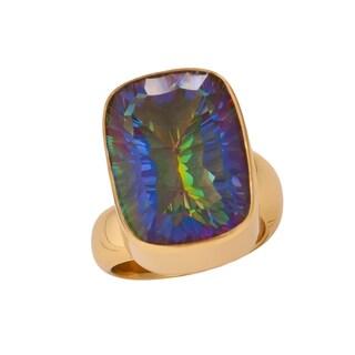 Handmade Alchemia Mystic Quartz Ring (Mexico)