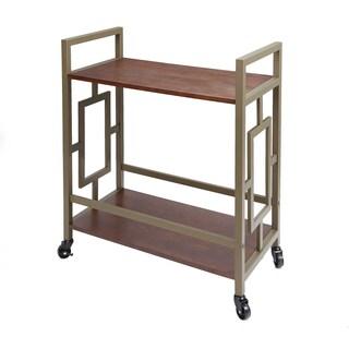 Emerson 2 Tier Bar Cart by Silverwood