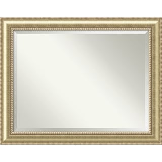 Wall Mirror Oversize Large, Astoria Champagne 47 x 37-inch