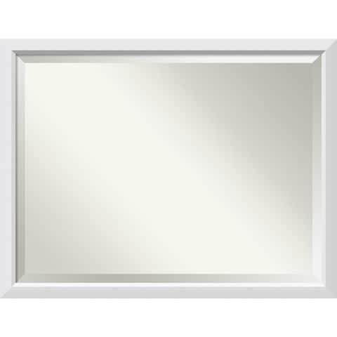 Wall Mirror Oversize Large, Blanco White 44 x 34-inch - oversize large - 44 x 34-inch