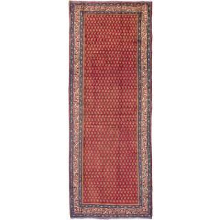 ecarpetgallery Arak Red Wool Rug (4'0 x 11'0)