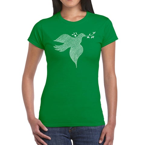 Los Angeles Pop Art Women's Dove T-Shirt
