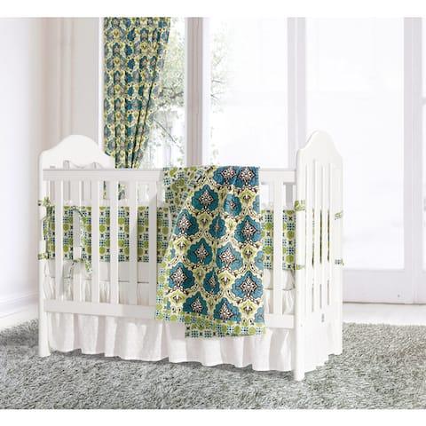 HiEnd Accents Salado 6-piece Crib Bedding Set