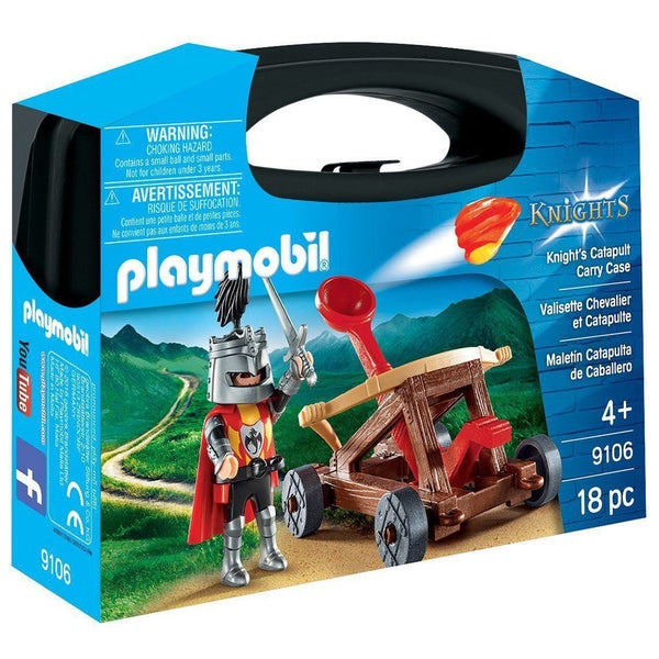Playmobil Knight's Catapult Carry Case 9106