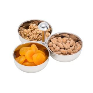Elegance Appetizer Dish- Nut and Dip Bowl