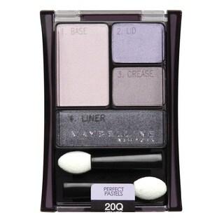 Maybelline New York Expert Wear Eyeshadow Quads 20q Velvet Crush Perfect Pastels