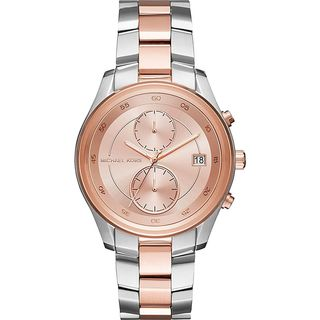 Michael Kors Women's MK6498 'Briar' Chronograph Two-Tone Stainless Steel Watch