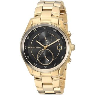 Michael Kors Women's MK6497 'Briar' Chronograph Gold-Tone Stainless Steel Watch