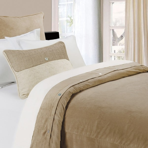 HiEnd Accents Fairfield Sand Duvet Cover (Shams Not Included)