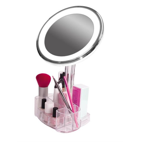 Rucci Cosmetic Illuminated and Magnified Vanity Mirror