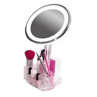 Rucci Cosmetic Illuminated + Magnified Vanity Mirror