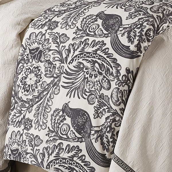 HiEnd Accents Toile Duvet Cover (Shams Not Included)