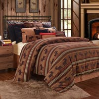 HiEnd Accents 5-Piece Moose or Bear Duvet Set