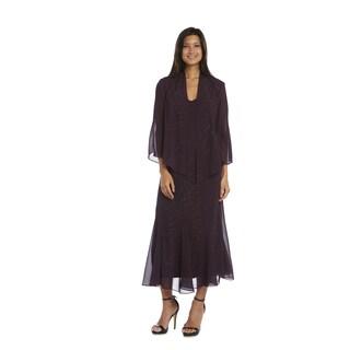 R&M Richards Purple Jacket Dress