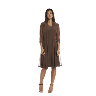 R&M Richards Mocha Jacket Dress