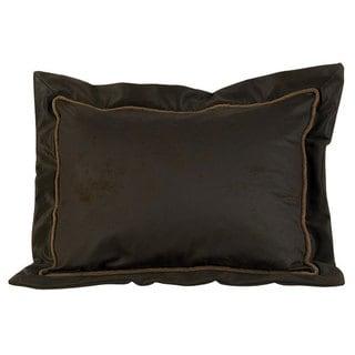 HiEnd Accents Faux Leather Pillow Sham