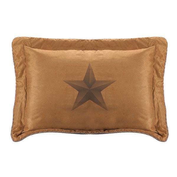 HiEnd Accents Luxury Star 1-Piece Pillow Sham
