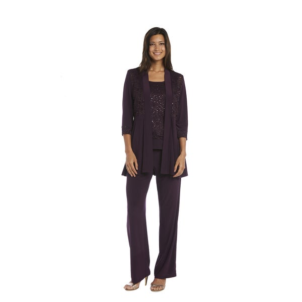 R&M Richards Lace Pant Set