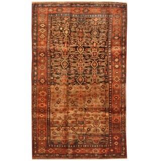 Herat Oriental Persian Hand-knotted Bidjar Wool Rug (4'9 x 7'10)
