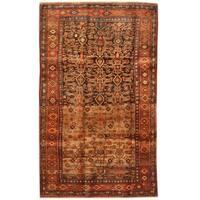Handmade Herat Oriental Persian Bidjar Wool Rug - 4'9 x 7'10 (Iran)