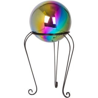 """12"""" Metal Gazing Ball Stand for 10"""" Gazing Ball by Trademark Innovations"""