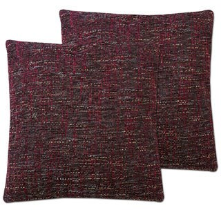 "Seattle Decorative Throw Pillow Pair (18""x18"") Assorted Colors"