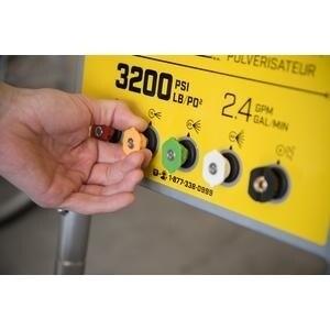 Champion 3200-PSI 2.4-GPM Wheelbarrow-Style Gas Pressure ...