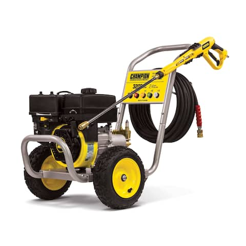 Champion 3200-PSI 2.4-GPM Wheelbarrow-Style Gas Pressure Washer