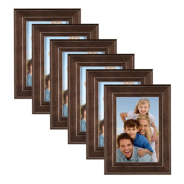 DesignOvation Kieva Solid Wood Picture Frame Set