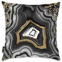 Oliver Gal 'Adore Geo' Decorative Pillow