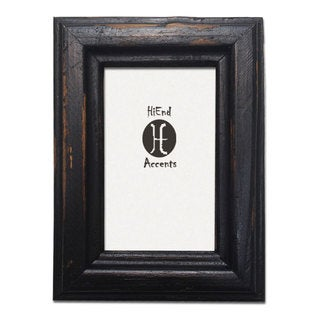 HiEnd Accents Painted Distressed Wood Frame (Ea)
