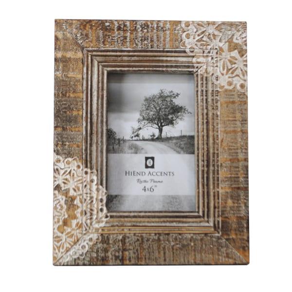 HiEnd Accents Cut Lace Picture Frame 8 x 10