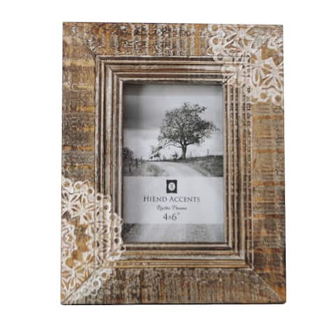 HiEnd Accents Cut Lace Picture Frame 8 x 10