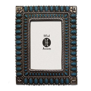 HiEnd Accents Solid Stones (Ea) 4X6 Turquoise