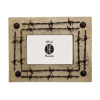 HiEnd Accents Double Barbwire (Ea) 4X6