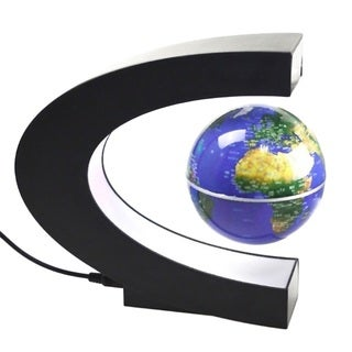 Antigravity Floating Magnetic Globe with LED Light