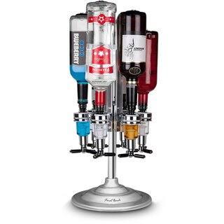 6 Bottle Bar Caddy / Liquor Dispenser-Chrome Finish|https://ak1.ostkcdn.com/images/products/15909335/P22313013.jpg?impolicy=medium