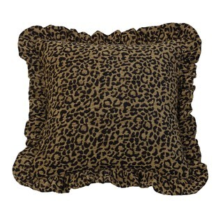 HiEnd Accents Leopard PrintThrow Pillow 18 X 18