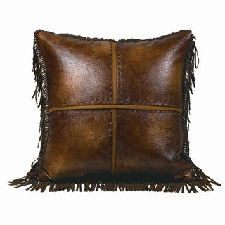 Link to HiEnd Accents 18 x 18-inch Cross-stitched Throw Pillow Similar Items in Sewing & Quilting