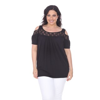 White Mark Women's Plus Size Bexley Tunic Top (More options available)