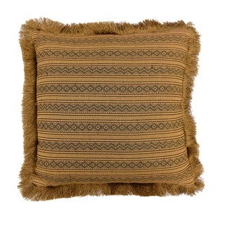 HiEnd Accents Sw MatchingThrow Pillow W/Fringe 18 X 18