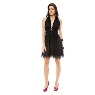 Sara Boo Little Black Lace Dress