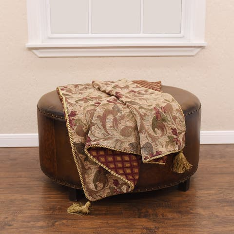 HiEnd Accents Fb2010 50 X 60-inch Throw