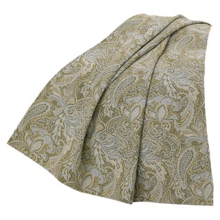 HiEnd Accents Chenille Paisley 50-inch x 60-inch Throw