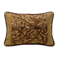 HiEnd Accents 14-inch x 20-inch Tree Throw Pillow With Buckle Detail