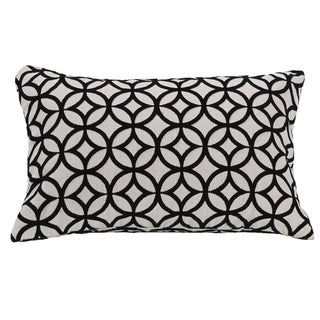 HiEnd Accents Cutted Velvet 10x16 Throw Pillow