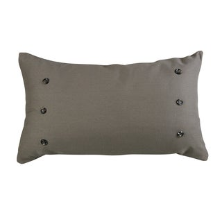 HiEnd Accents Taupe Grey 21x34 Large Throw Pillow