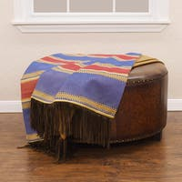 HiEnd Accents Denim Throw