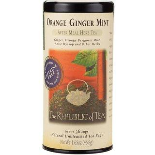 Orange Ginger Mint Tea