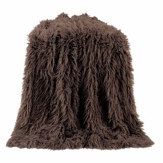 HiEnd Accents Mangolian Faux Fur Throw